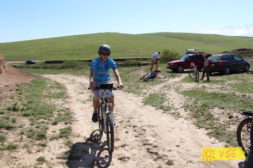 соревнования по СО на велосипедах в Ортосае