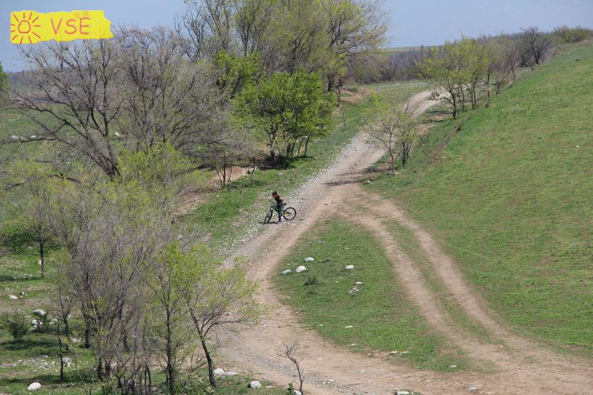 соревнование по СО на велосипедах в Ортосае