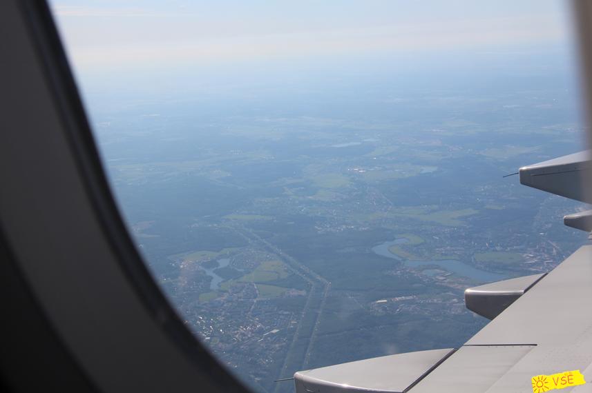 подлетаем к Москве