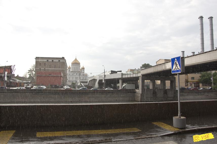 дождь, Москва