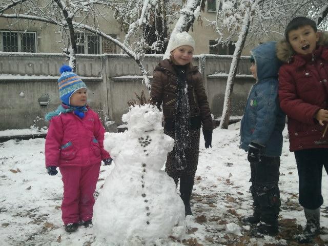 Софья и снеговик