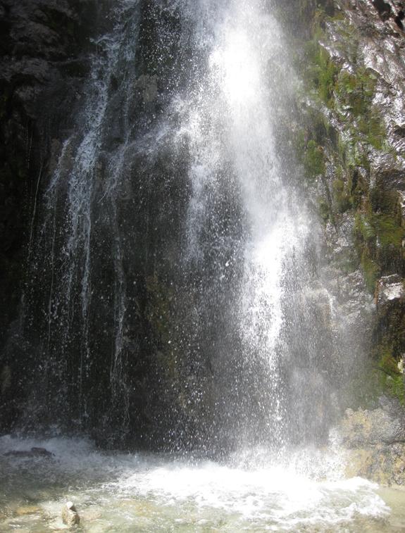 ИК, Барскоонское ущелье, водопад