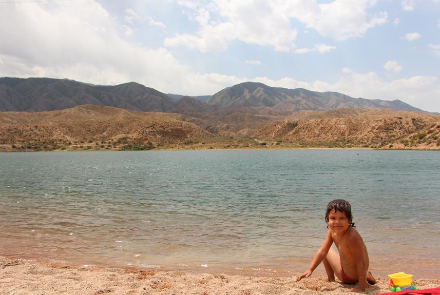ИК, Солёное озеро