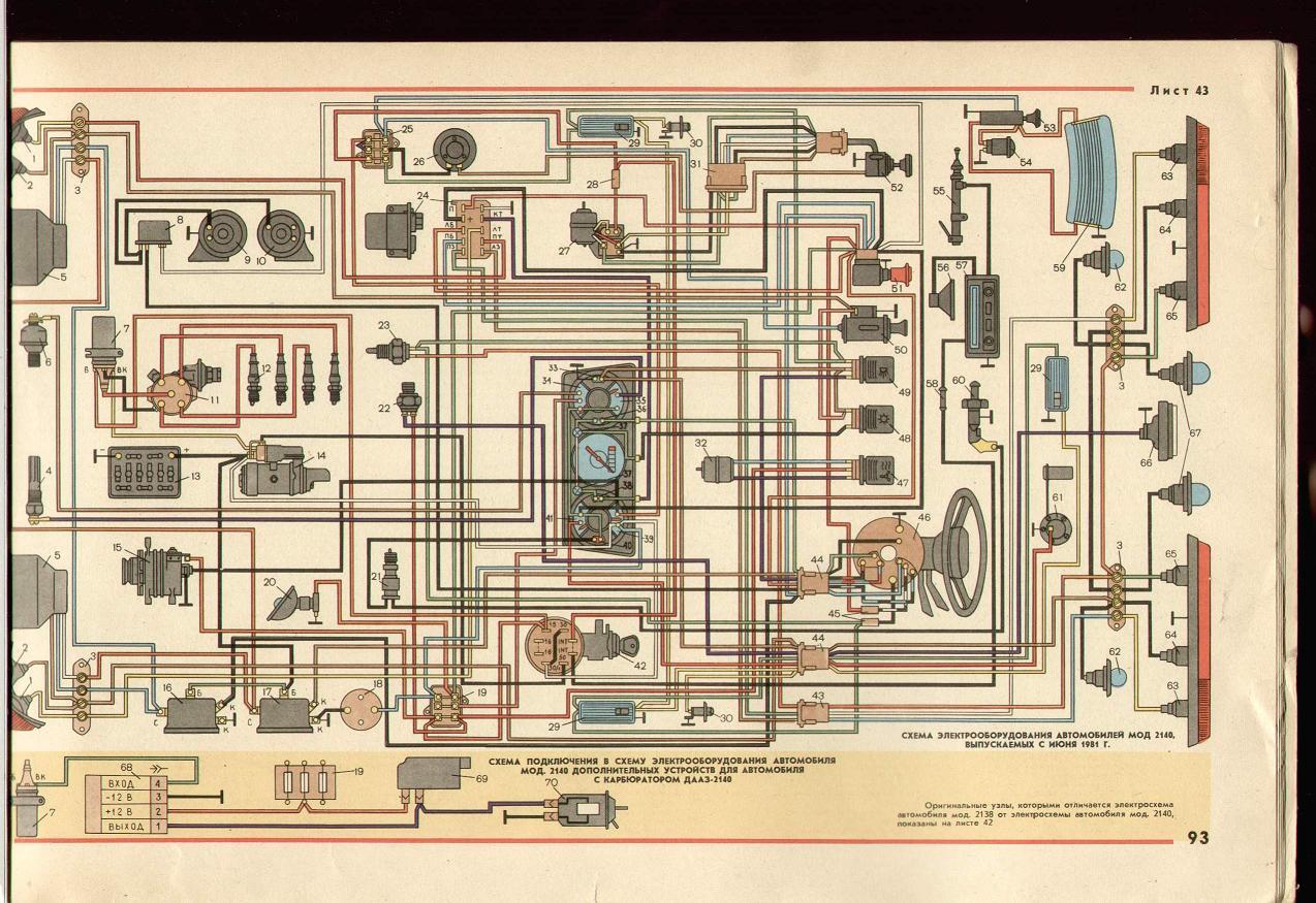 Схема подключения к 21412