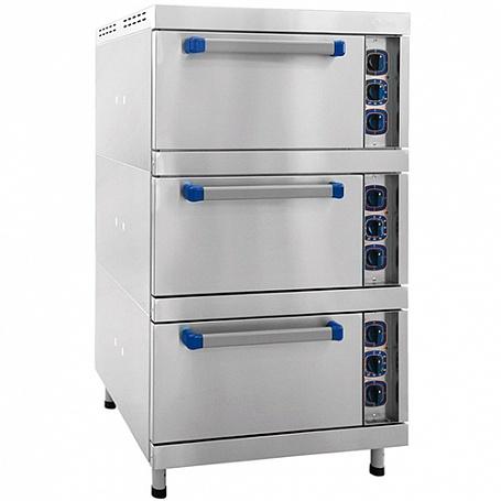 Шкаф жарочный электрический ШЖЭ-3-К-2,1 (полностью нерж) духовка GN2,1 конвекция с пароувлажн..jpeg
