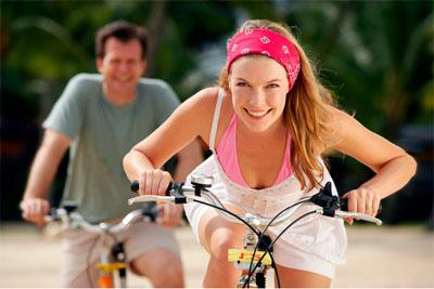 Женский оргазм при езде на велосипеде
