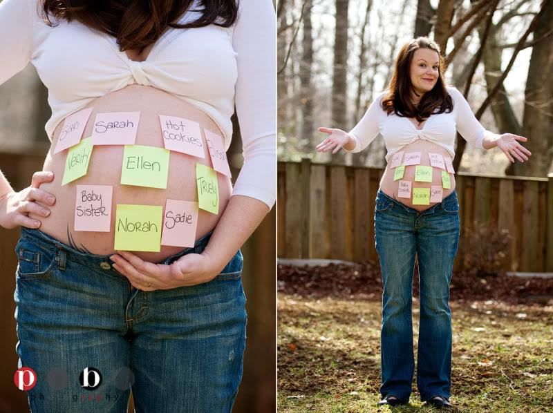 Интересные идеи для беременной фотосессии 15