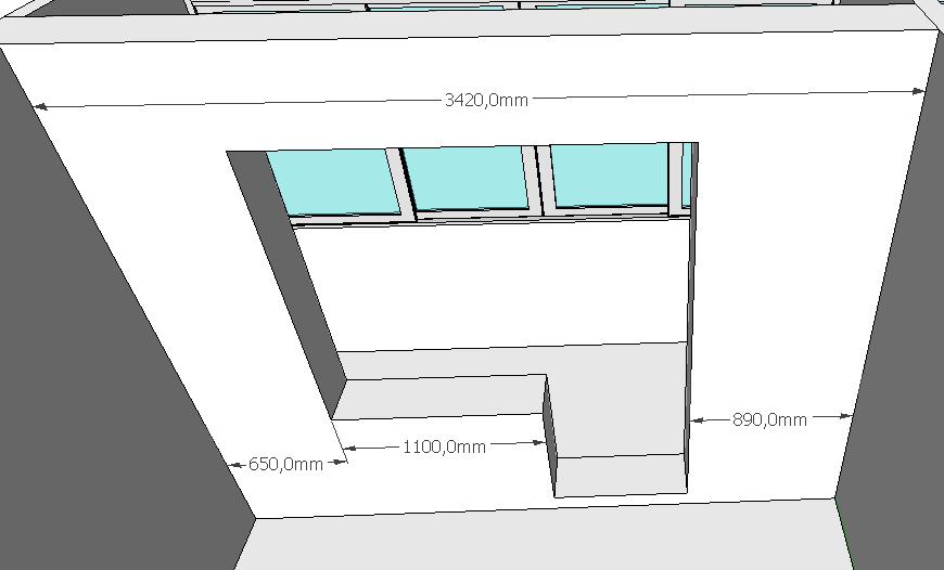 Дизайн и перепланировка 2-х комнатной квартиры