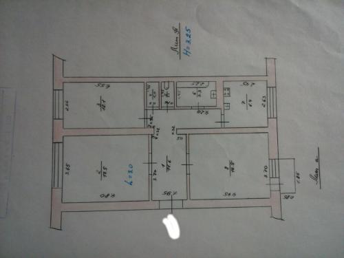 Продается 3 комнатная квартира в центре города Бишкек