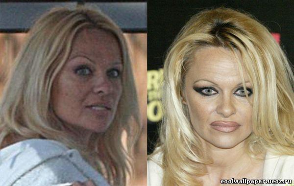 Памелой андерсон без макияжа