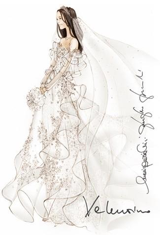 eecf8f8f403 Эскизы свадебного платья Кейт Миддлтон - Diesel Forum