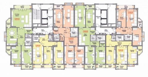 Продаю 3х кв S-131м2(ПСО) в новом доме премиум класса ск «Авангард-Стиль»Жилой дом «Манхэттен» цена 880$ торг ан