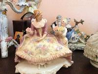 Продаю антикварные  статуэтки фарфоровые Германия  - последнее сообщение от Наталья С.